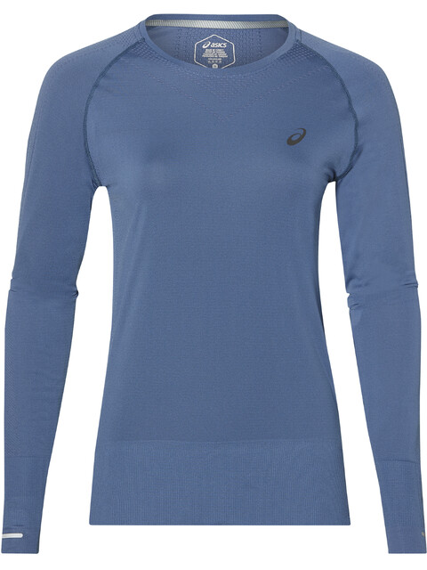 asics Seamless LS Shirt Women Azure